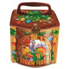 """Акция - Новогодняя упаковка из жести """"Копилка """"С Новым годом!"""""""