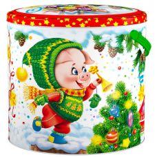 """Новогодний подарок  700 г """"Овал """"Фунтик"""""""