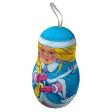 """Новогодняя упаковка  150 г """"Матрешка """"Снегурочка"""""""