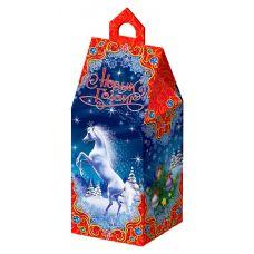"""Новогодняя упаковка из картона """"Волшебная ночь"""""""
