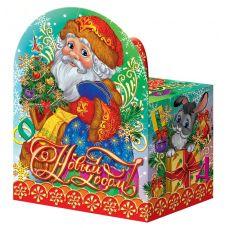 """Новогодняя упаковка  500 г """" Дед Мороз"""""""