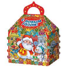 """Новогодний подарок 1500 г """"Терем """"Дед Мороз с подарками"""""""