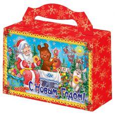 """Новогодняя упаковка  500 г """"Новогоднее чаепитие"""""""
