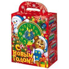"""Новогодняя упаковка  700 г """"Новогодние часы"""""""