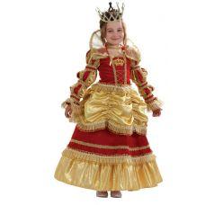 """Детские карнавальные костюмы """"Королева золотая"""""""