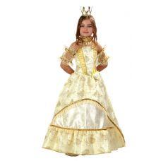 """Новогодние костюмы для детей """"Золушка-Принцесса золотая"""""""