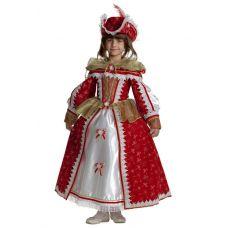 """Детские карнавальные костюмы """"Королева мушкетеров"""""""