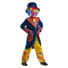 """Костюмы маскарадные для детей """"Клоун Франт синий"""""""
