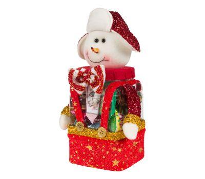 """Новогодний подарок  400 г """"Снеговик в шапке"""""""