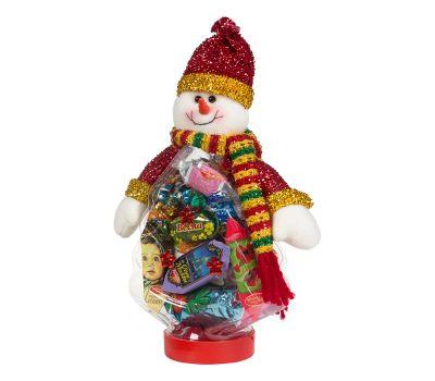 """Новогодний подарок  300 г """"Снеговик на банке (елка)"""""""