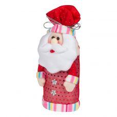 """Новогодняя упаковка  640 г """"Дед Мороз-мешок красный"""""""