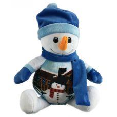 """Новогодняя упаковка  850 г """"Симпатичный снеговик"""""""
