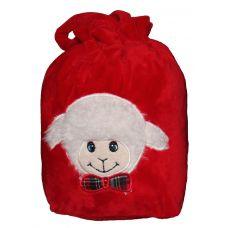 Новогодняя упаковка - мешочек с овечкой в ассортименте