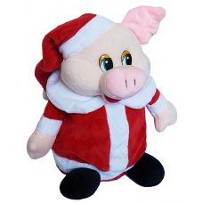 """Новогодняя упаковка 1000 г """"Поросенок - помощник Санта Клауса"""""""