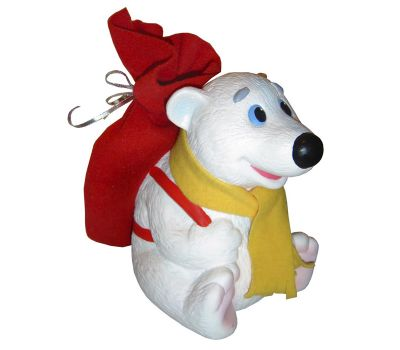 """Новогодняя упаковка  900 г """"Медвежонок с рюкзаком"""""""
