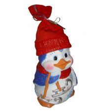 """Новогодний подарок  850 г """"Пингвин Пинчик"""""""