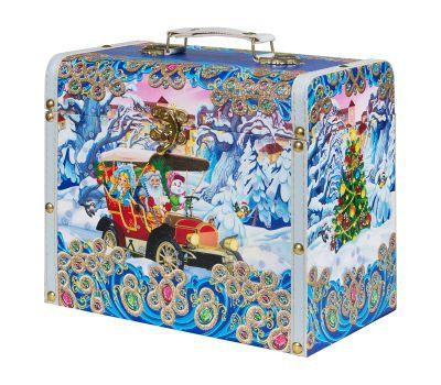 """Новогодний подарок 2000 г """"Сундучок """"Автомобиль Деда Мороза"""" малый"""""""